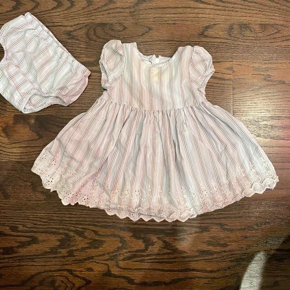 BABY GAP | dress & bloomers | 3-6M